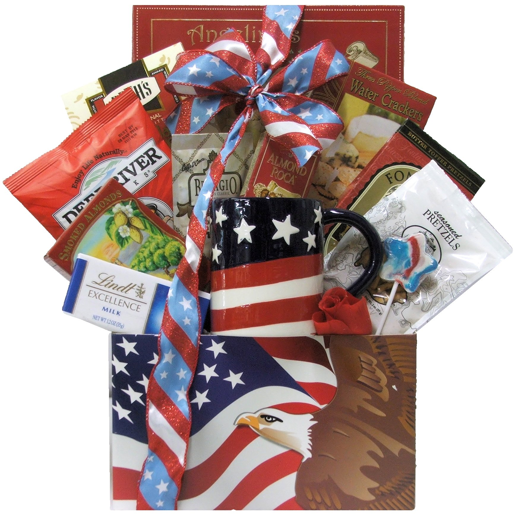 GreatArrivals Gift Baskets Enduring Freedom, Welcome Home Solider or Patriotic by GreatArrivals Gift Baskets (Image #1)