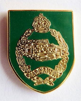 Lapel Badge Army ROYAL TANK REGIMENT