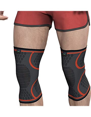 7a1a864a11 Modvel Compression Knee Sleeve (1 Pair) - FDA Approved, Knee Brace Support  for