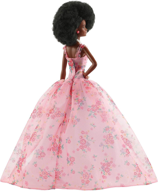 Amazon.com: Barbie – Muñeca de deseos de cumpleaños, estilo ...