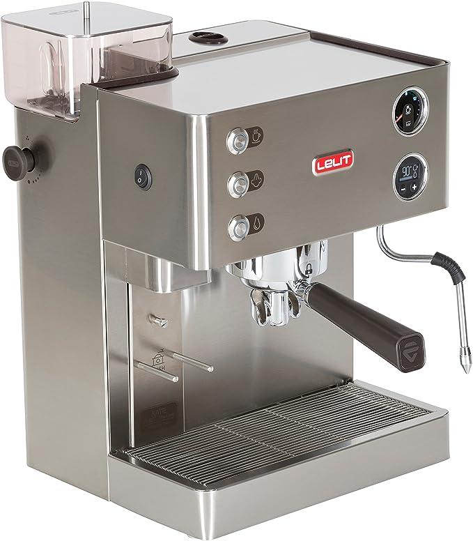 Lelit PL82T Kate, Máquina de Espresso Semiprofesional - Molinillo ...