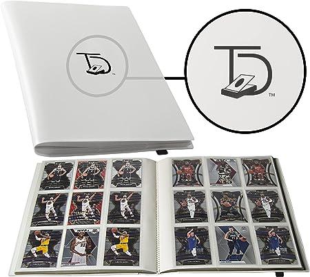 TopDeck 500 Card Pocket Folder Pro | 9 Pocket Trading Cards Album | Side Load Sleeves | Pokemon/MTG/Yugioh/TCG Folder | Trading & Sports Holder | (White)
