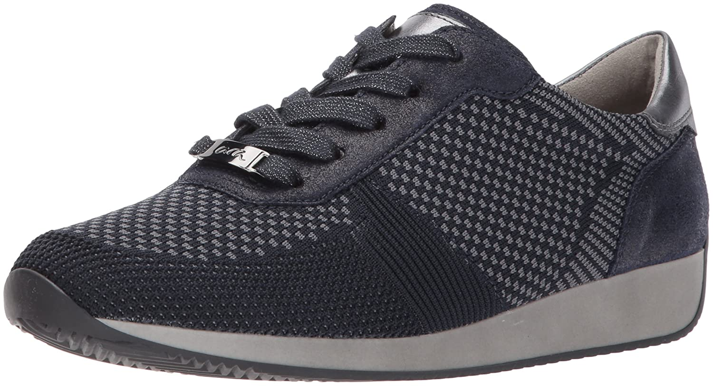 ara Women's Lilly Sneaker B06XHPPGP1 9.5 B(M) US|Blue Woven