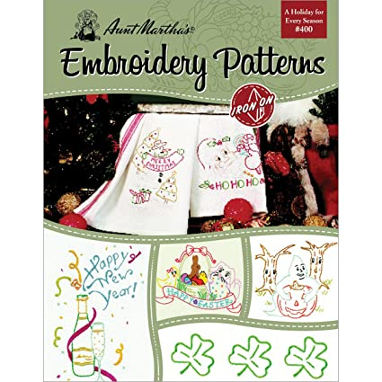 Amazon Aunt Marthas 405 A Holiday For Every Season Embroidery