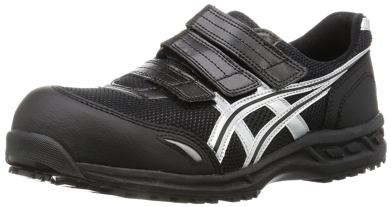 [アシックス] 安全靴 ウィンジョブ 41L B001EZ5HBM 25.5 cm|ブラック/シルバー ブラック/シルバー 25.5 cm