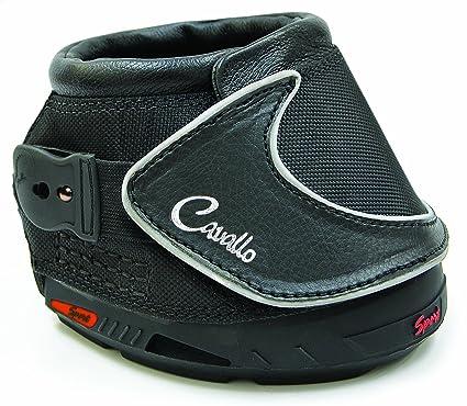 Amazon.com   Cavallo Sport Slim Sole Hoof Boots Size 3 Black   Horse ... 40255daf3b