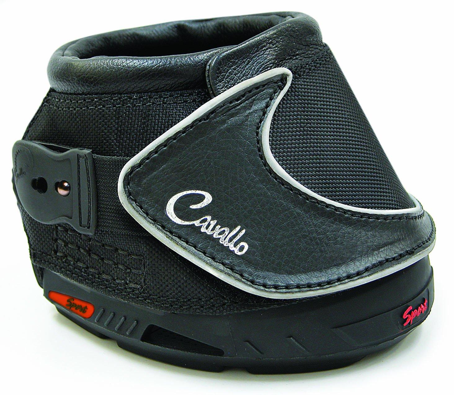 Cavallo Sport Hoof Boot for Horses, Size 0, Black