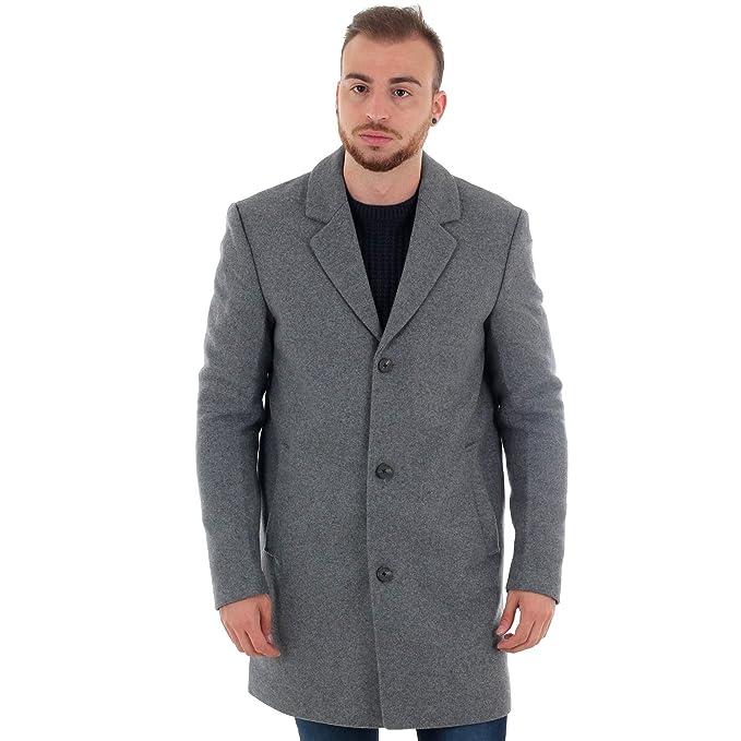 JORBLINDERS Coat Gris Abrigo Wool Jones Hombre Jack 12154698 H2WDIY9E