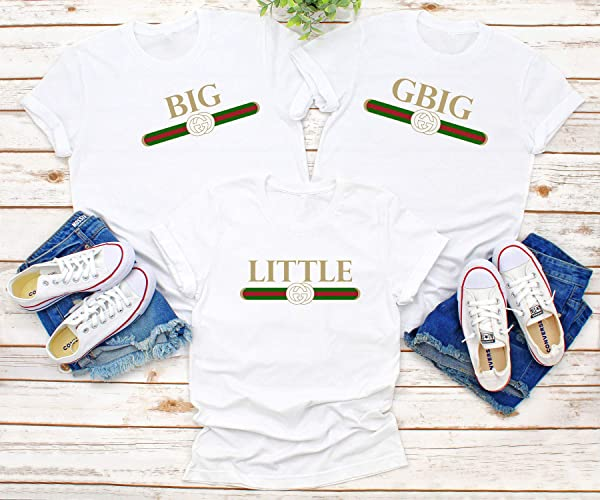 Amazon com: Gucci Inspired Sorority Big Little Tee, Reveal