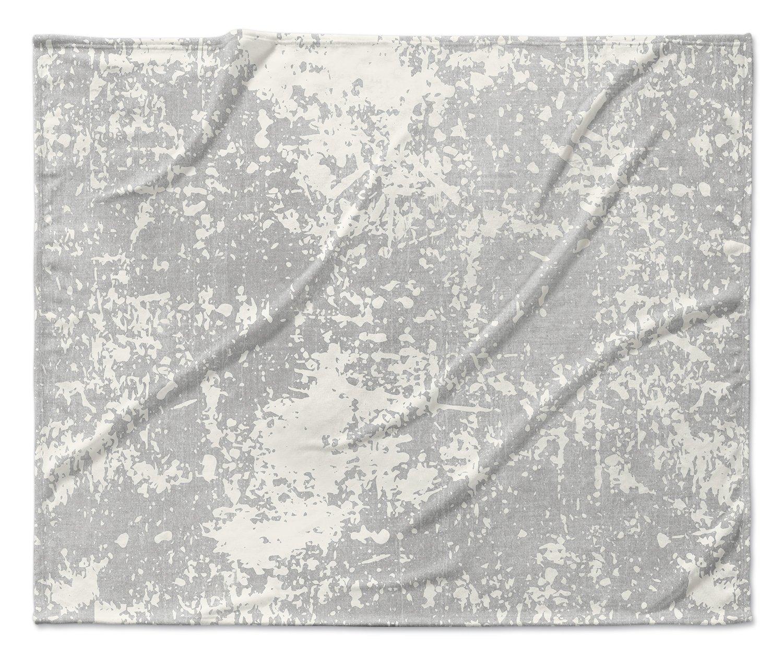 Size: 40x30x1 - TELAVC1479VPS KAVKA Designs Milano Fleece Blanket, - ENCOMPASS Collection Grey