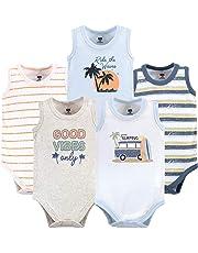 5f512a95b93 Hudson Baby Baby Boys  Sleeveless Bodysuits