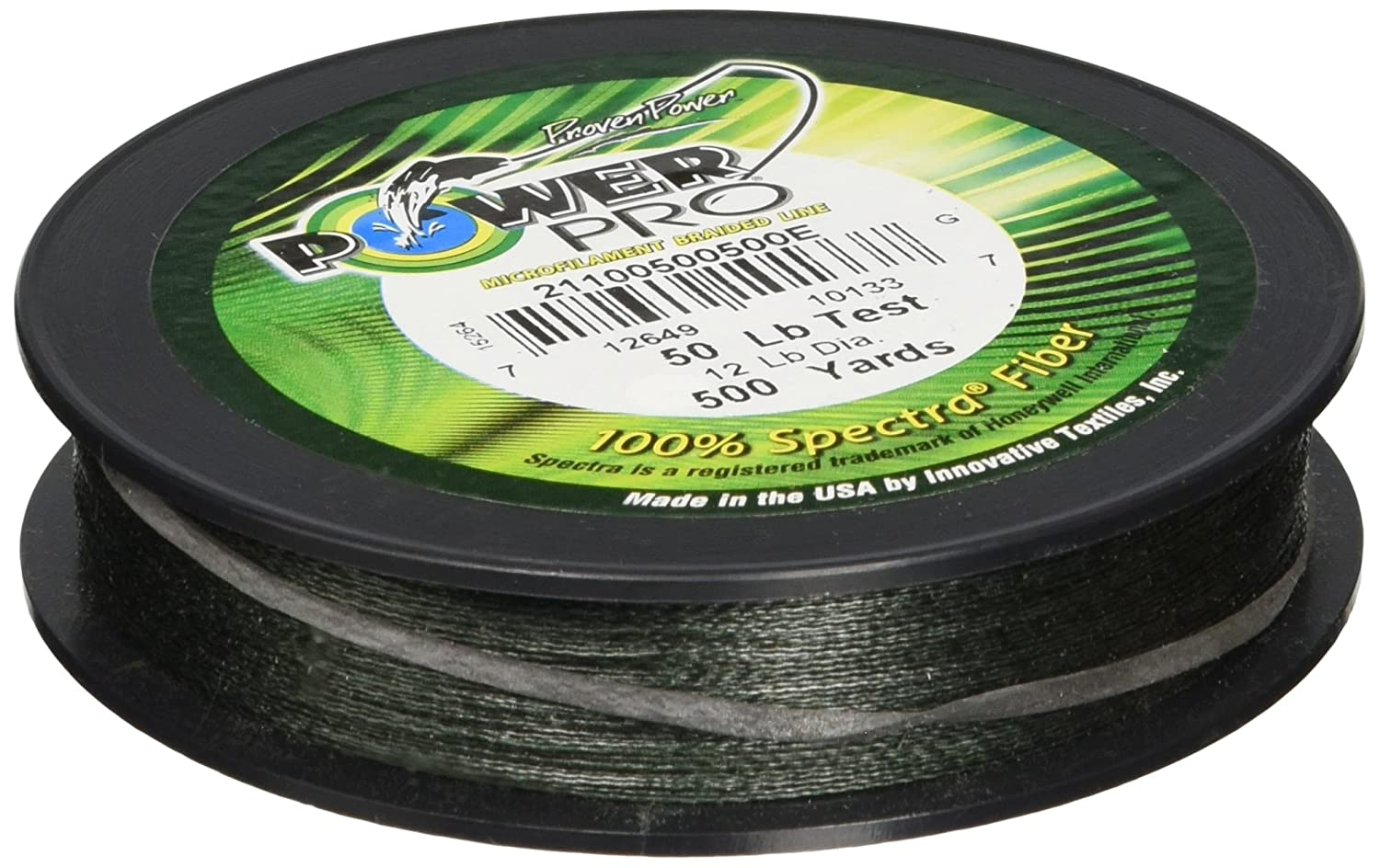 POWER PRO SPECTRA LINE-MOSS GREEN