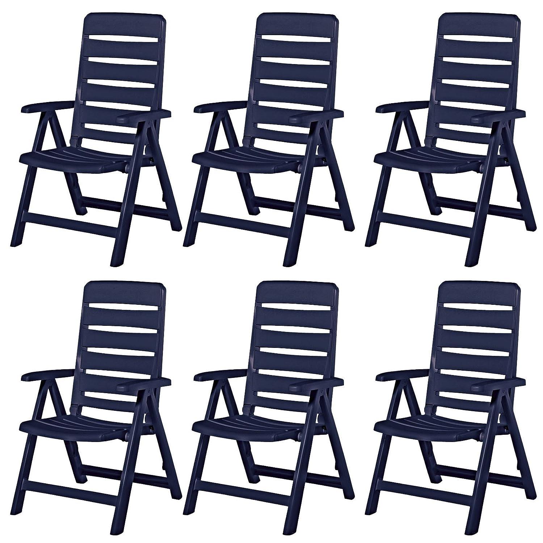 Amazon.de: 6 Kettler Nizza Gartenstühle Gartenmöbel Sessel ...