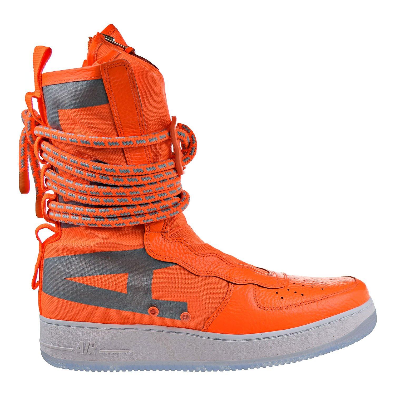 Nike Herren SF Air Force 1 Mid Schwarz Leder Synthetik Turnschuhe B0763QYN28 | Förderung
