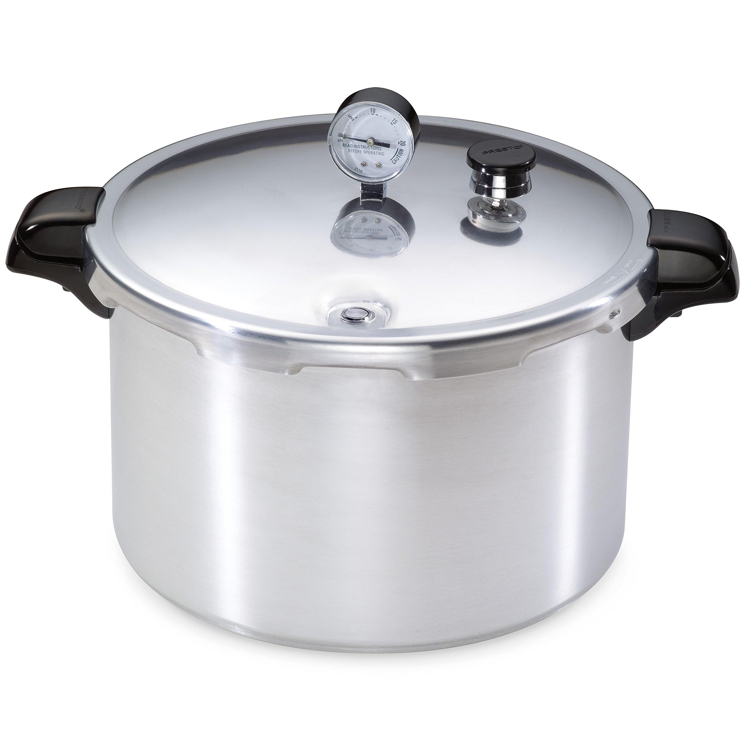 Presto 01755 16-Quart Aluminum canner Pressure Cooker, One Size, Silver by Presto