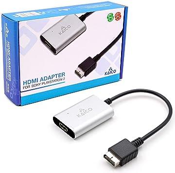 Amazon Com Cable Ps2 Hdmi Ps2 Av Para Todos Los Modelos Sony Playstation 2 Interruptor Incorporado Para Intercambiar Entre Rgb O Componente Convertidor Ps2 A Hdmi Permite Que Cualquier Ps2 Se Conecte A