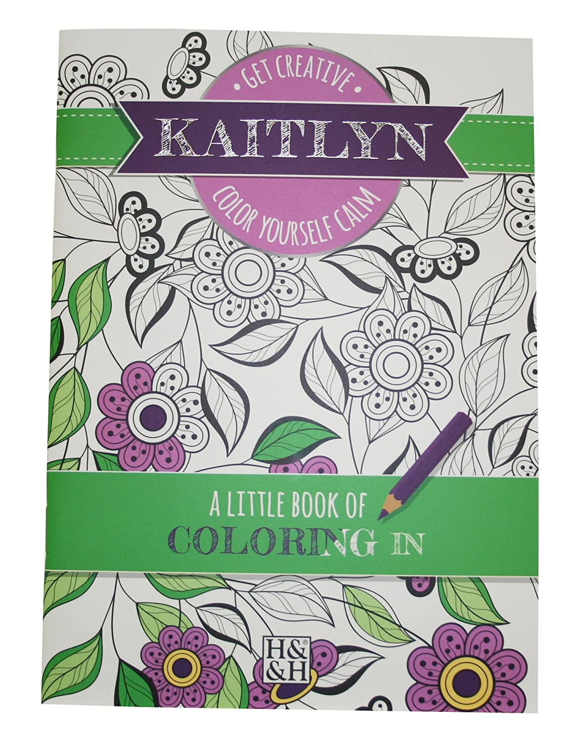 Personalized Coloring Books 203000288 Kaitlyn Drawing Book ...