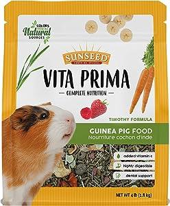 Sunseed Vita Prima Complete Nutrition Guinea Pig Food, 4 LBS