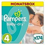 Pampers Baby Dry Windeln, Größe 4 (8-16 kg), 174 Stück