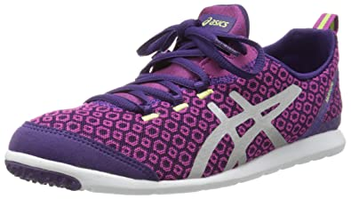 ASICS Women's Metrolyte Gem Walking Shoes,Plum/Lightning/Limeade,9 ...