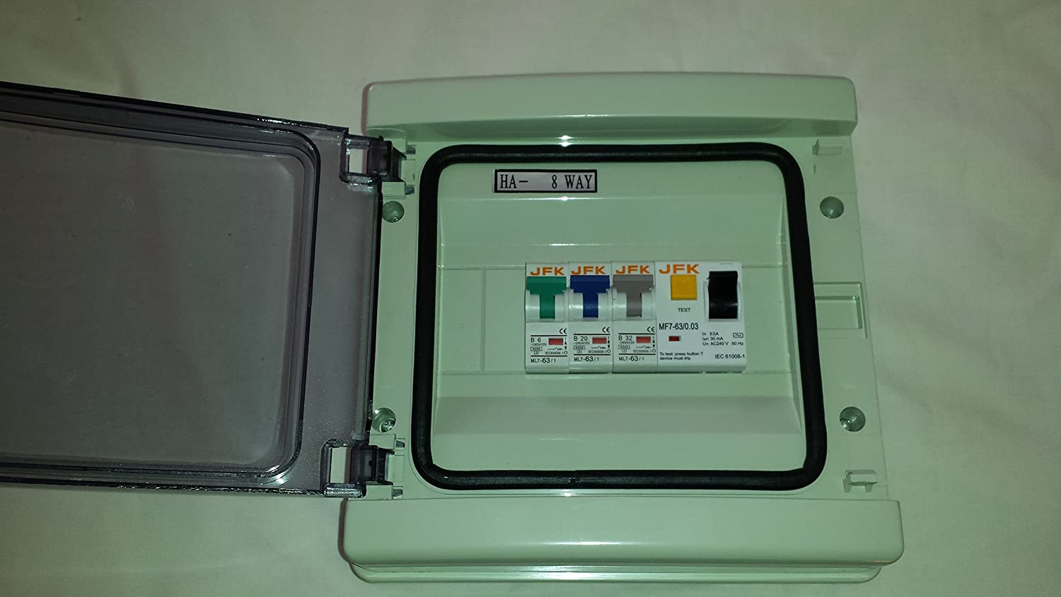 32 Amp Fuse Box Electrical Wiring Diagrams 15 3 Way Garageshed Consumer Unit Box63a Isolation Switch And