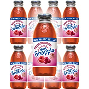 Snapple Diet Cranberry Raspberry, All Natural, 16 Fl Oz (Pack of 8, Total of 128 Fl Oz)