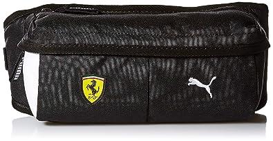 75f783da6a795 Amazon.com: PUMA Men's Scuderia Ferrari Fanwear Waist Bag, black ...