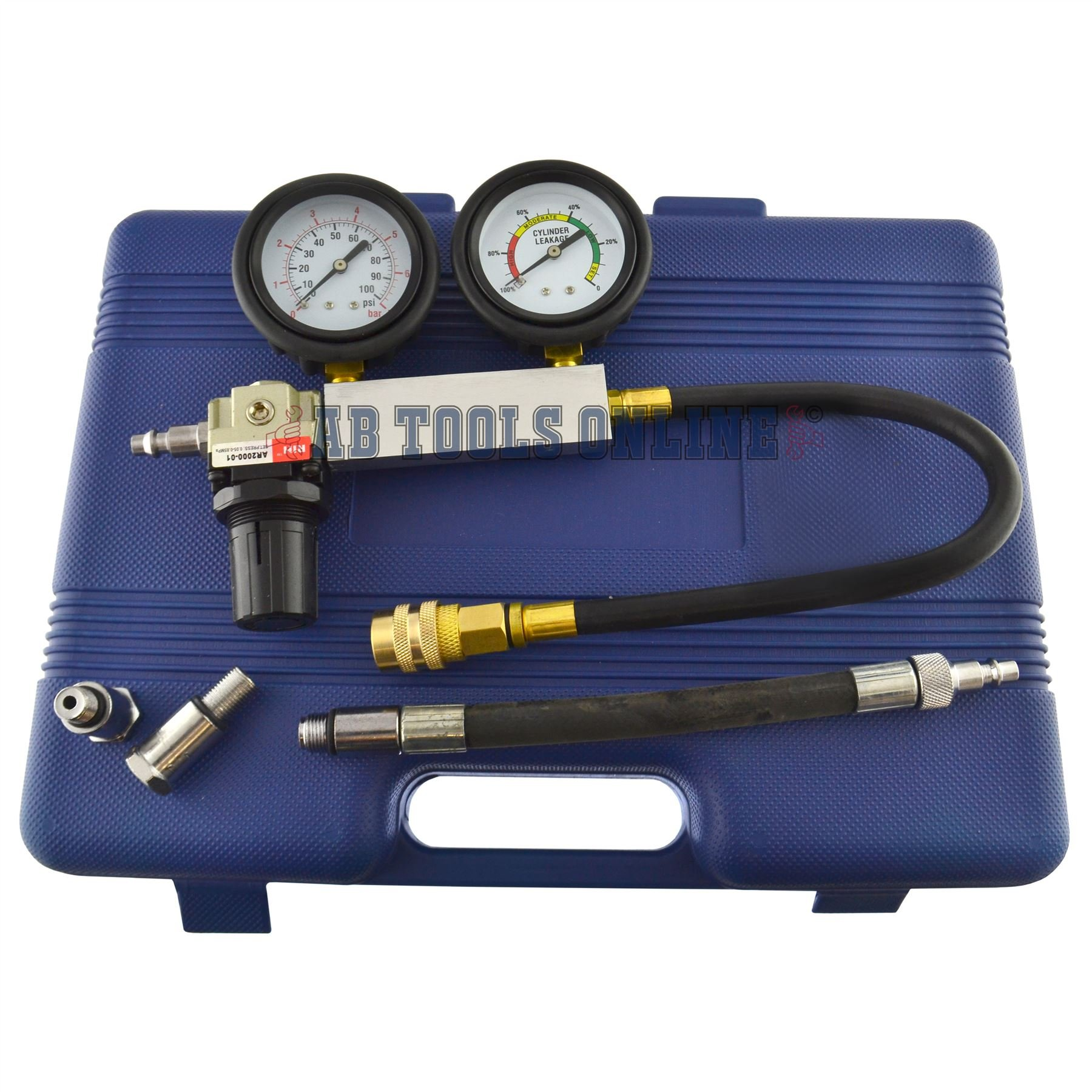 AB Tools-US Pro Cylinder Leak Detector/Tester Compression Leakage kit Set Petrol Engines AT270 by AB Tools-US Pro (Image #5)