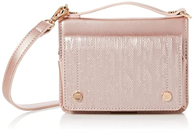 Juicy by Juicy Couture Womens Jefferson Cross-Body Bag Pink (Rose Gold) f4467a3df0