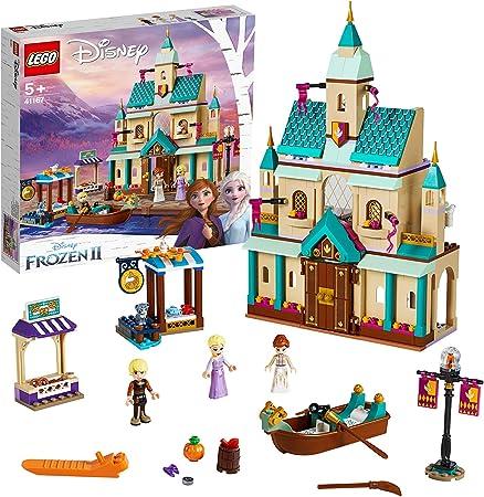 Incluye minipersonajes de Elsa, Anna y Kristoff, así como 3 figuras LEGO de animales: un gato y 2 pá