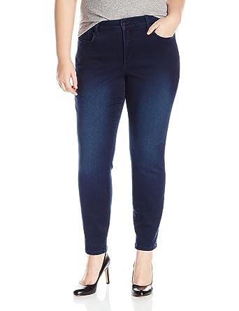d5356ee7c64 NYDJ Women s Plus Size Alina Skinny Jeans in Super Sculpt Denim at ...