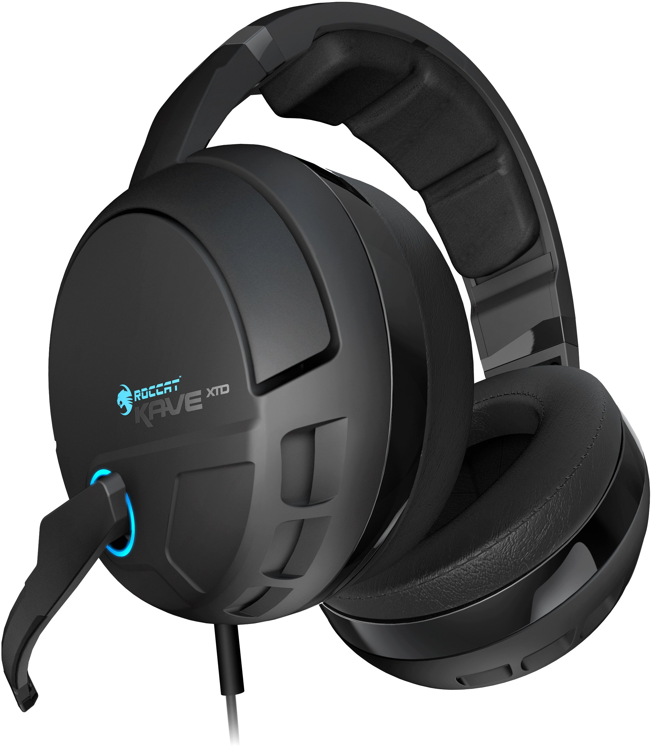 ROCCAT KAVE XTD 5.1 Digital – Premium 5.1 Surround Headset with USB Remote & Sound Card by ROCCAT