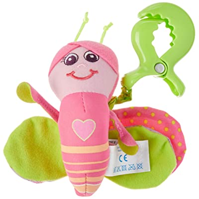 Tiny Love Smarts Betty Clip on Toy, Butterfly : Car Seat Toys : Baby