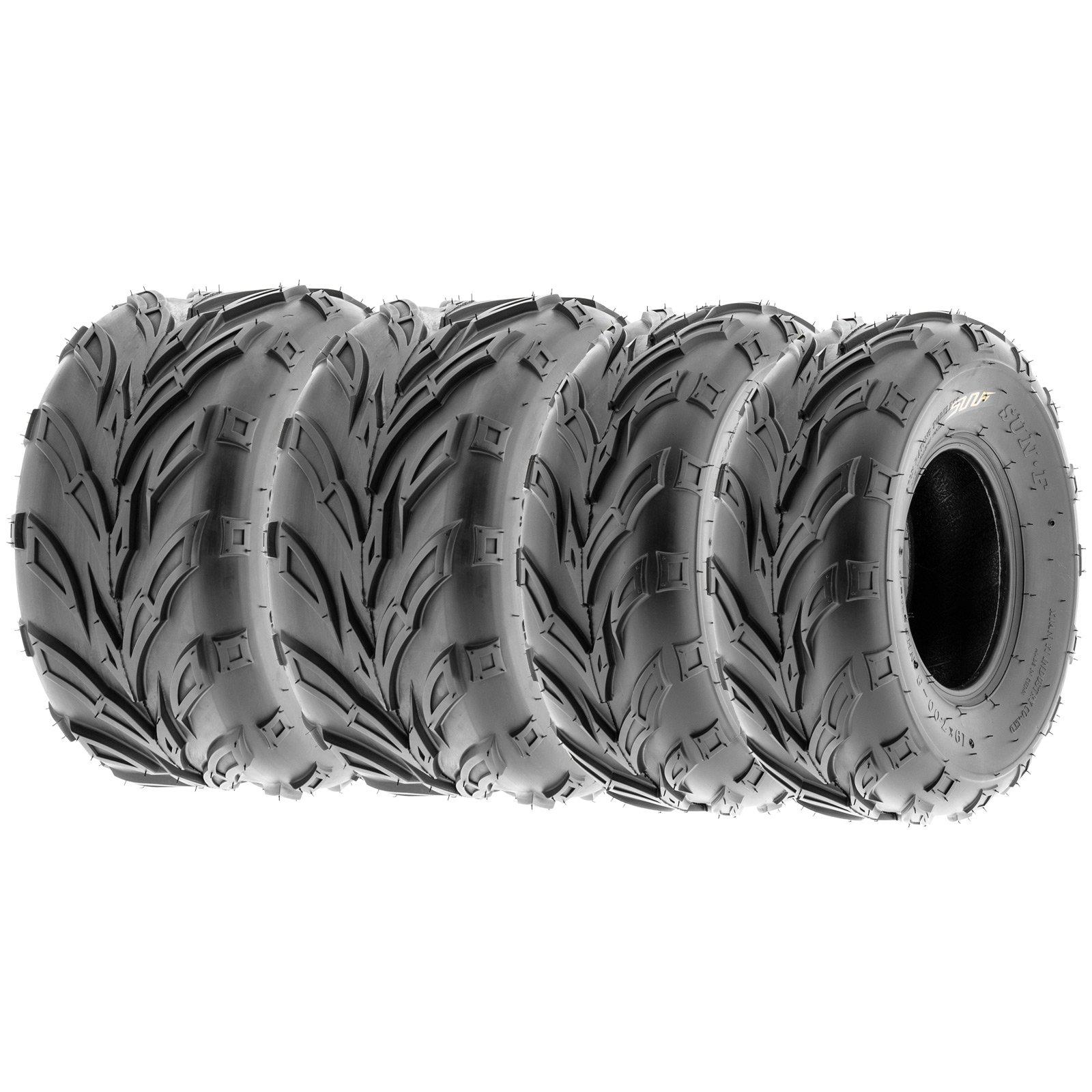 SunF Go Kart & ATV Tires 16x7-8 16x7x8 4 PR A004 (Full set of 4)