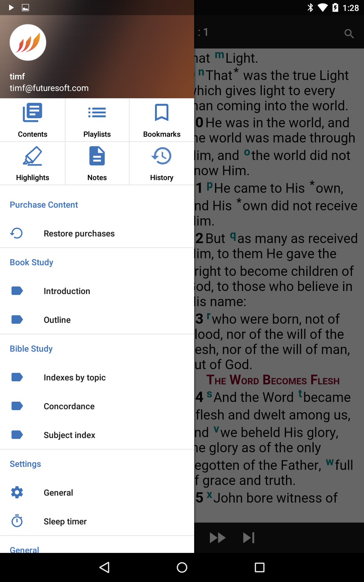 Large Product Image of Word of Promise® App