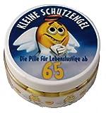 Kleine Schutzengel - Pillen zum 65. Geburtstag (Traubenzucker)