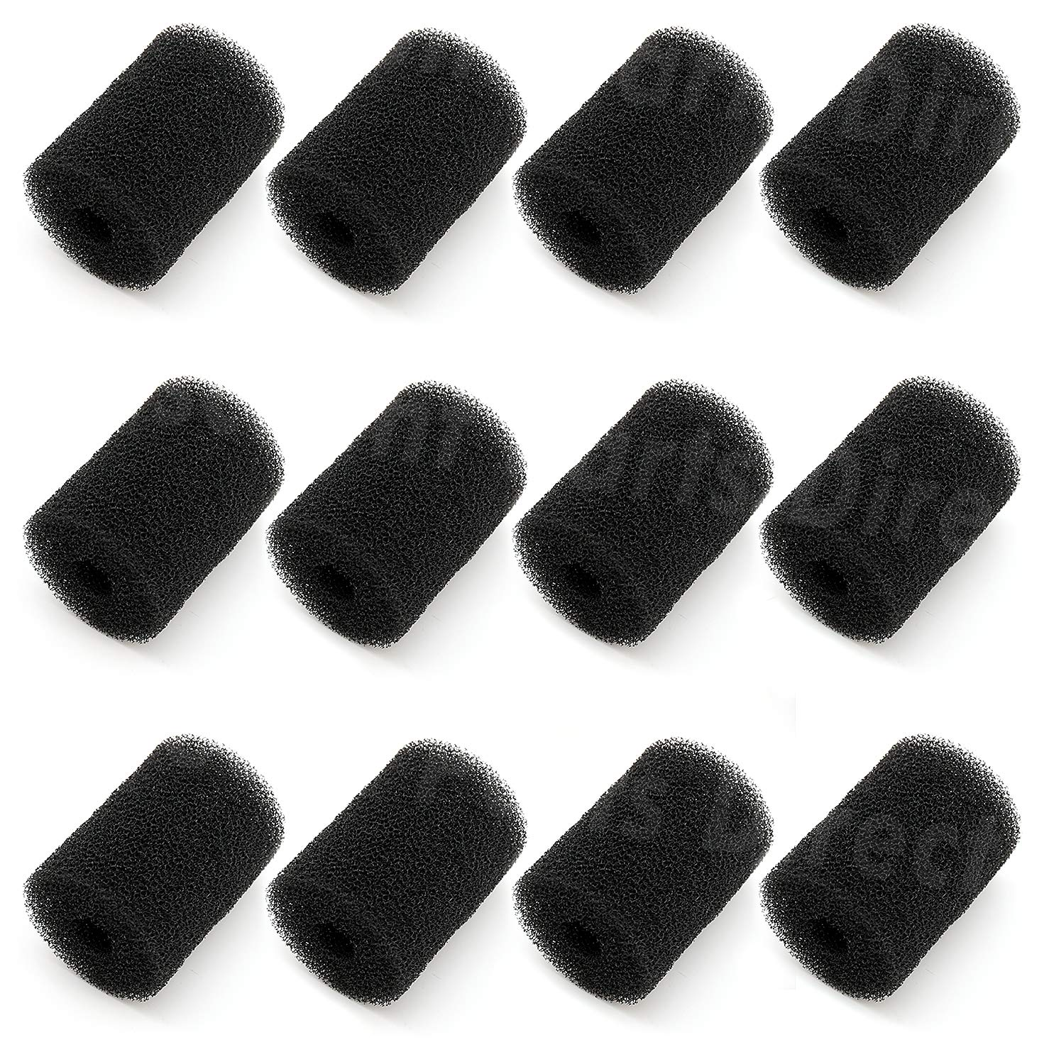 12 Pack MiMoo Sweep Hose Tail Scrubbers Replacement for Polaris Pool Cleaner, Fits Polaris 180 280 360 380, 3900 Sweep Pool Cleaner