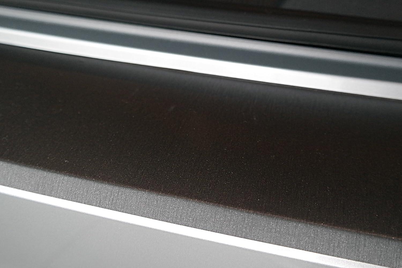 Lackschutz Autoschutzfolie passend Lackschutzfolie Schutzfolie Ladekantenschutz 3D Carbon Silber und passgenau f/ür Fahrzeugmodell Siehe Beschreibung