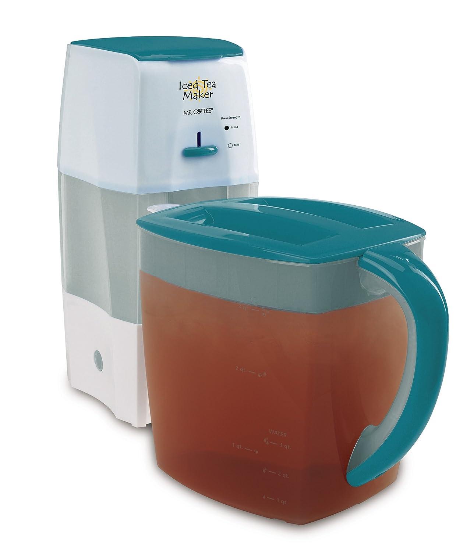 Mr. Coffee TM75TS Fresh Tea Iced Tea Maker, Teal Jarden Consumer Solutions