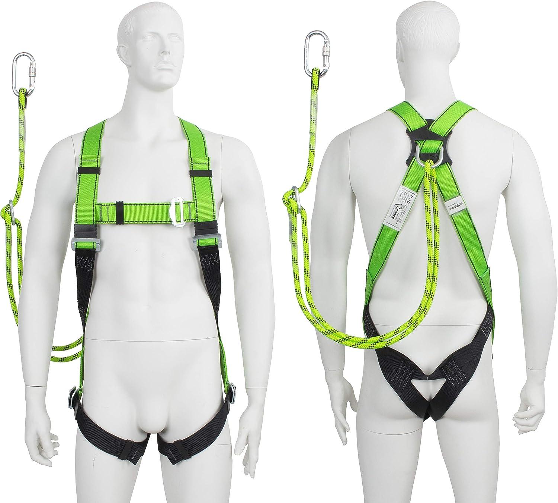 Arnés de seguridad de altura de cuerpo completo para recuperación ...