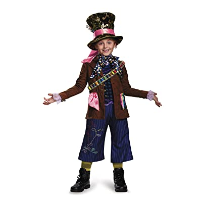 Mad Hatter Prestige Alice Through The Looking Glass Movie Disney Costume, Medium/7-8: Toys & Games [5Bkhe1807418]