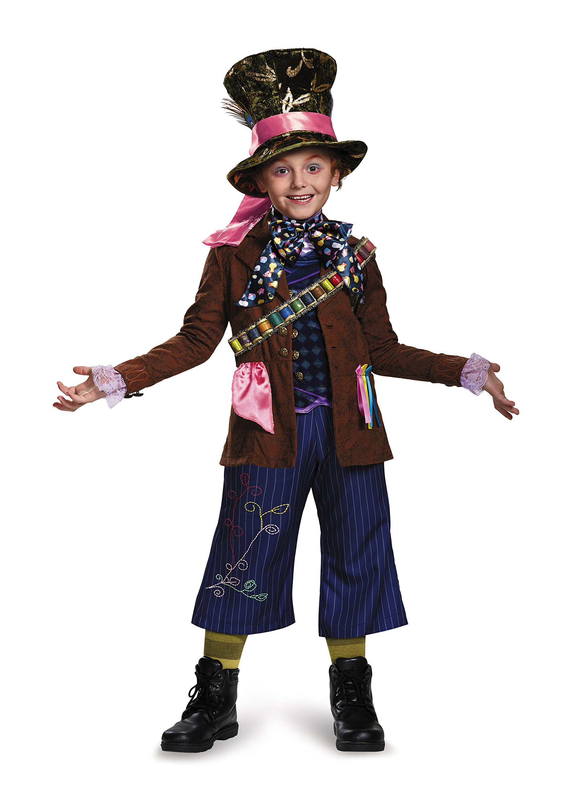Mad Hatter Prestige Alice Through The Looking Glass Movie Disney Costume, Large/10-12 by Disguise