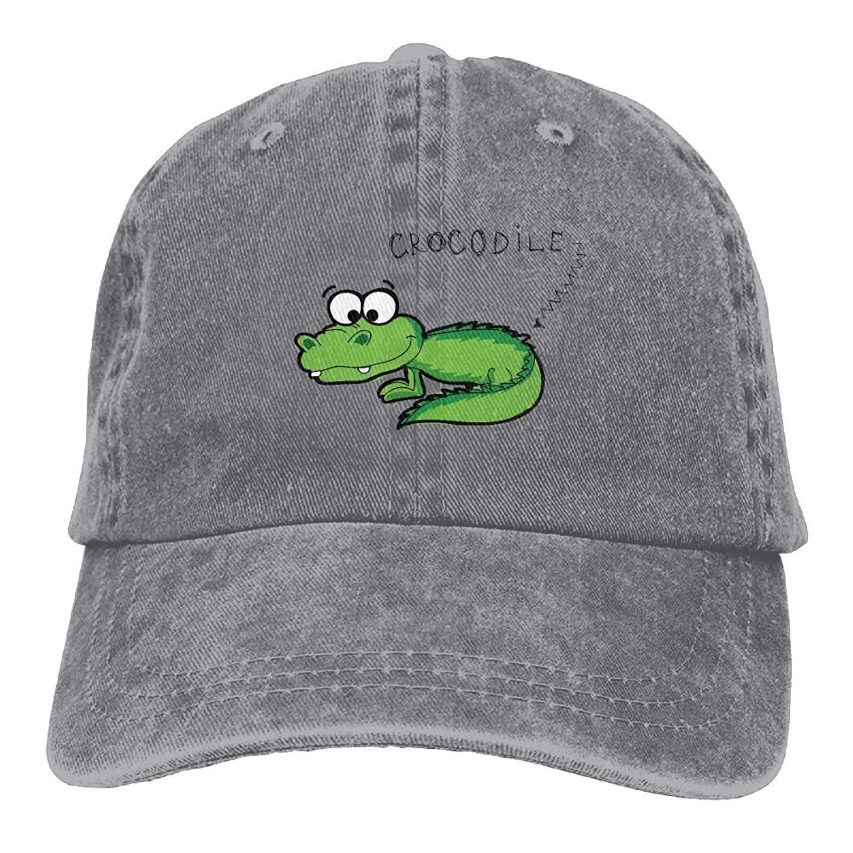 Amazon.com  LuoKuan Lonely-2c Cool Unisex Adjustable Baseball Cap Dad Hat  Smart Crocodile Snapback  Clothing 331d445ee3d7