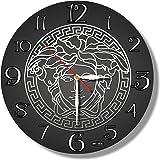 Versace 11''壁時計 ヴェルサーチ あなたの友人のための最高の贈り物。あなたの家のためのオリジナルデザイン