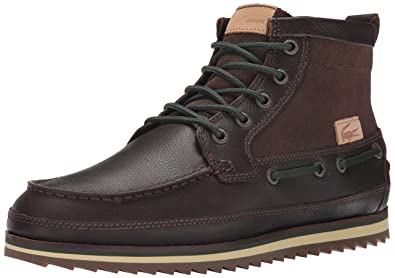 20182017 Boots Lacoste Mens Sauville Mid 8 Chukka Boot Online Sale