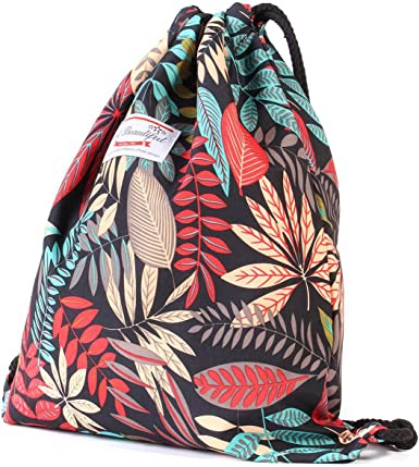 Pretty drawstring bag