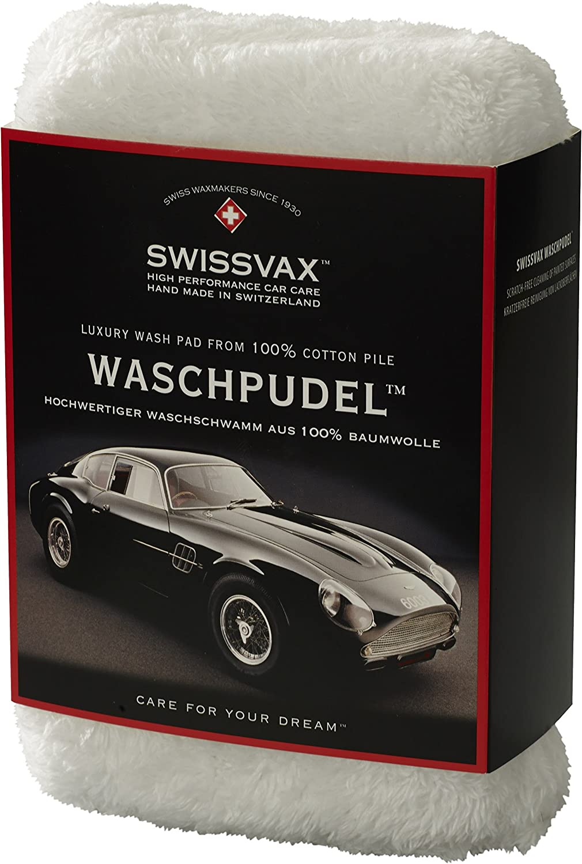 /éponge de lavage de luxe SWISSVAX WASCHPUDEL souple