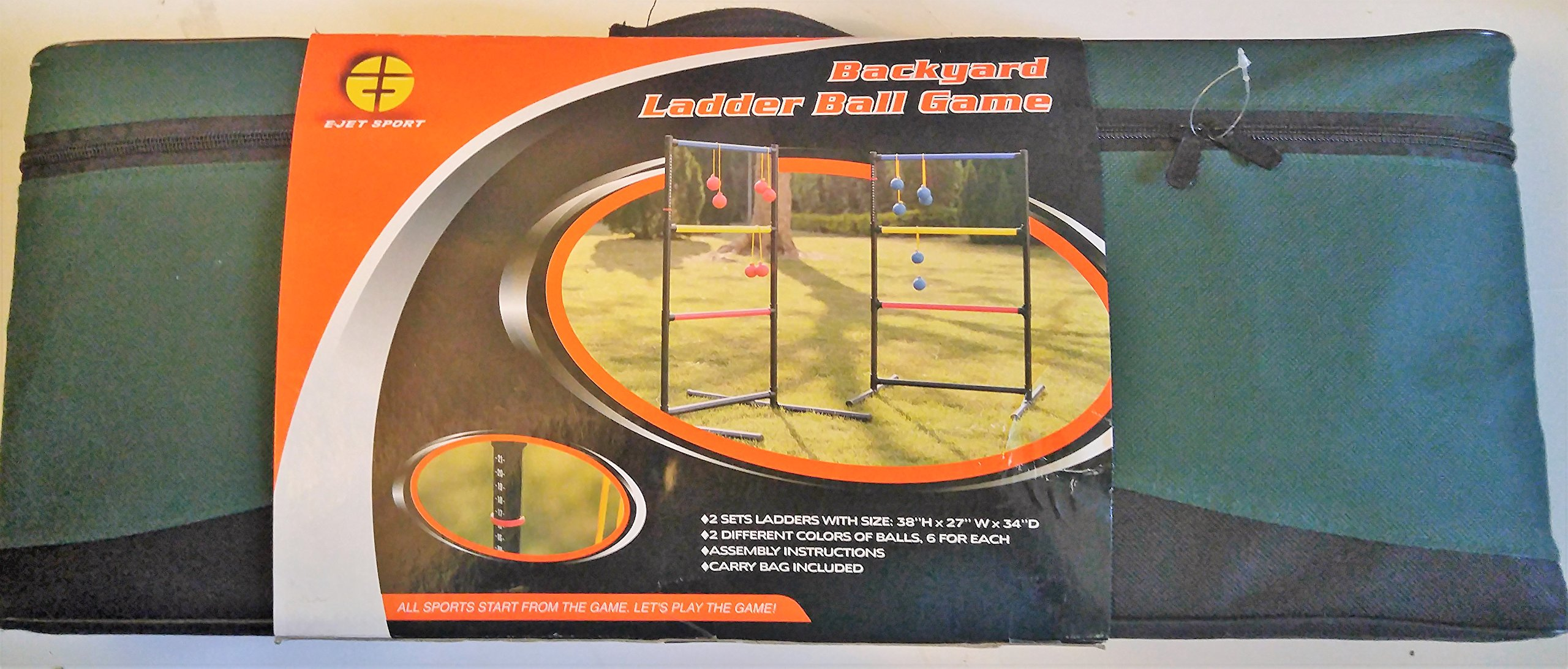 E-Jet Sports Backyard Ladder Ball Game