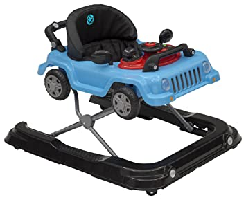 Jeep Classic Wrangler 3 In 1 Activity Walker, Blue