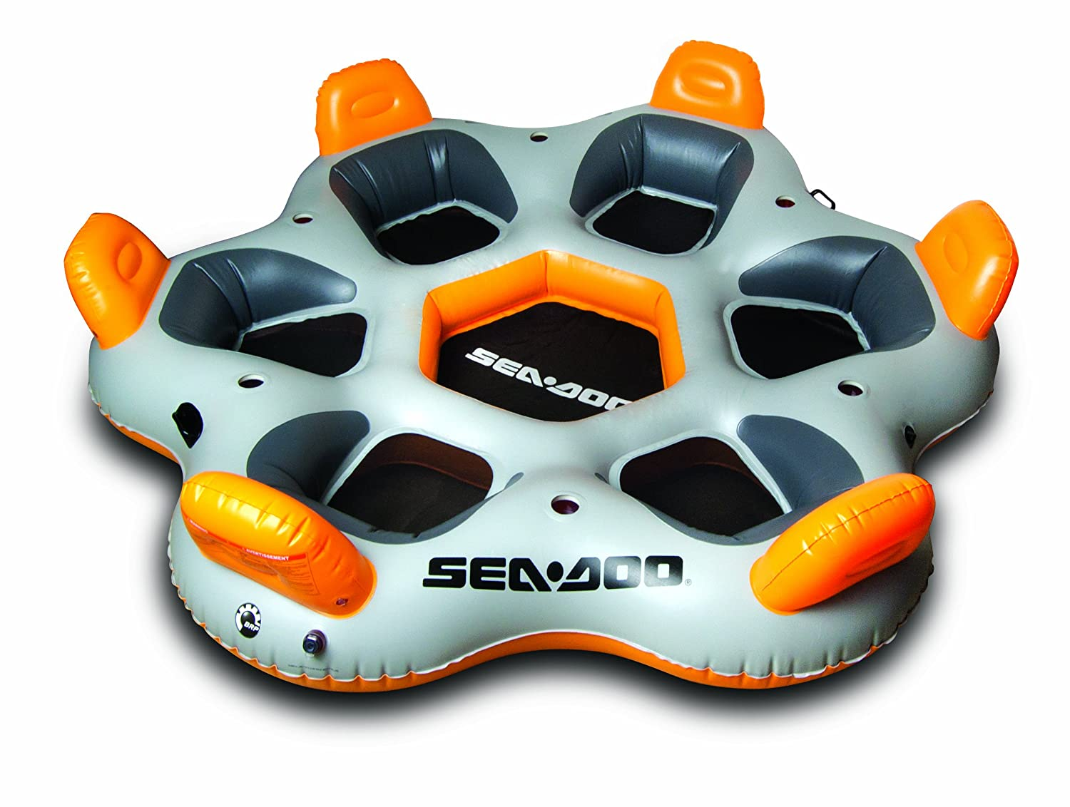SeaDoo Club Lounge 6, weiss/orange, SDN13003
